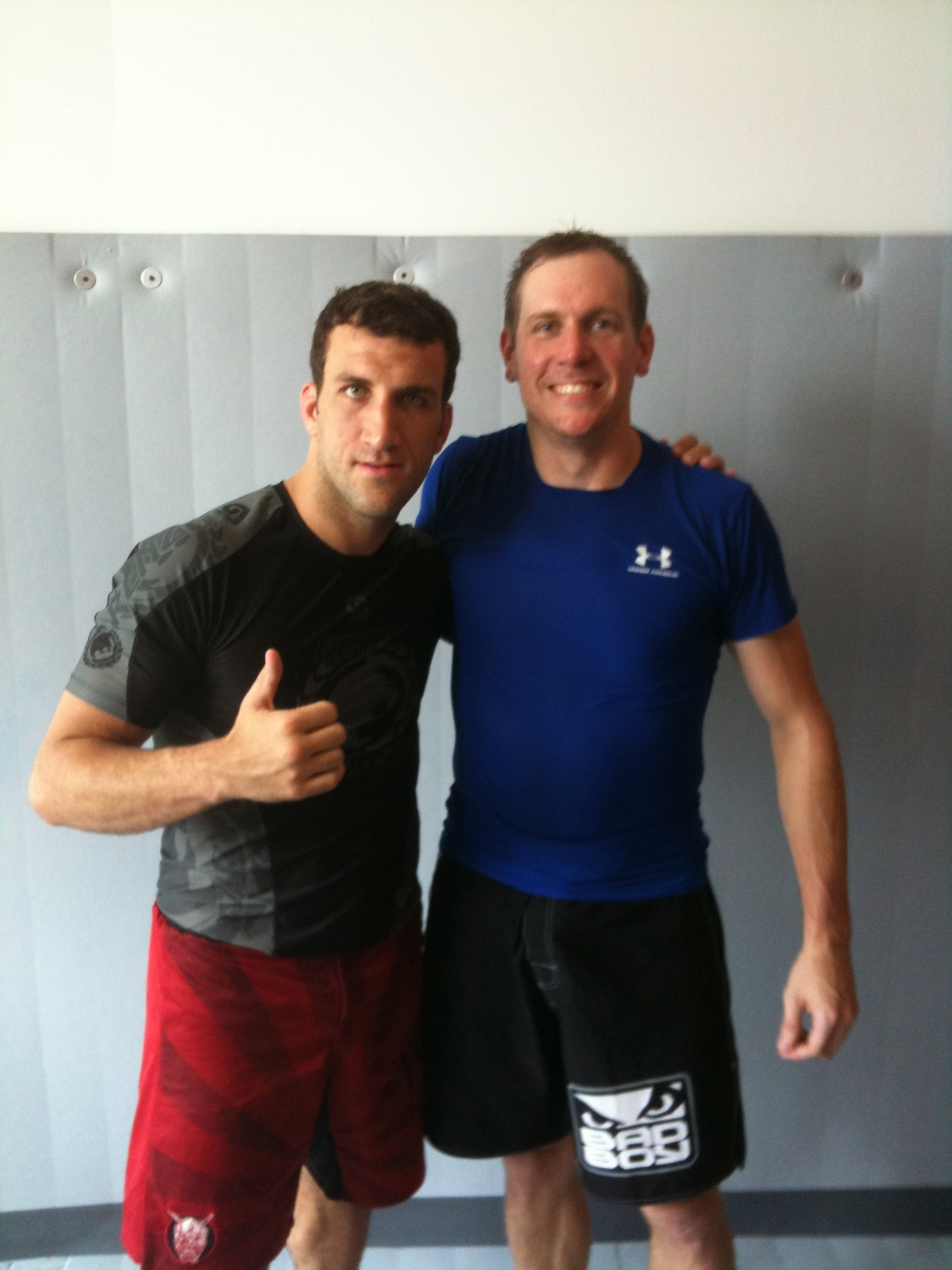 Me and Igor Gracie